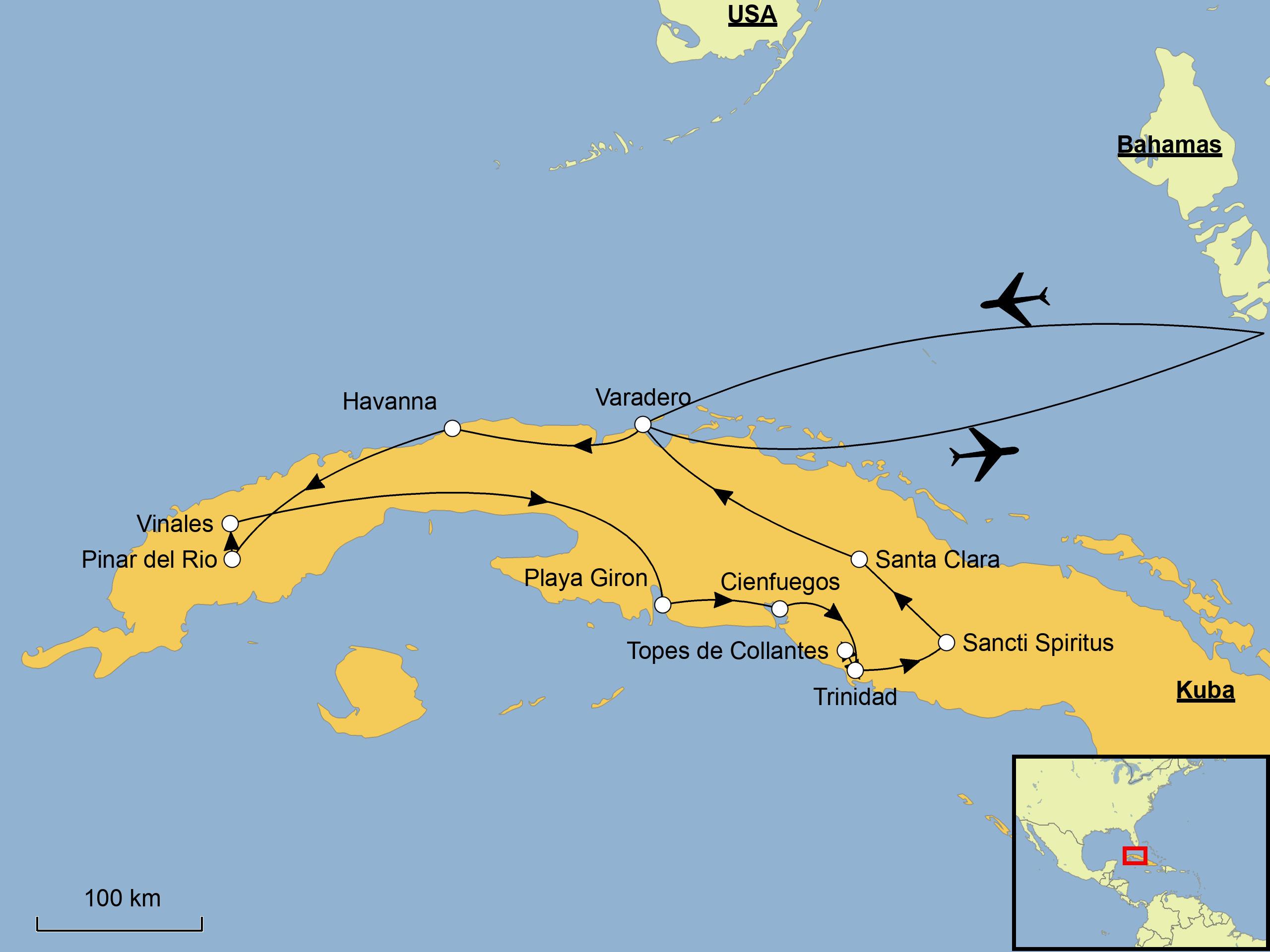 Havanna Kuba Karte.Kuba