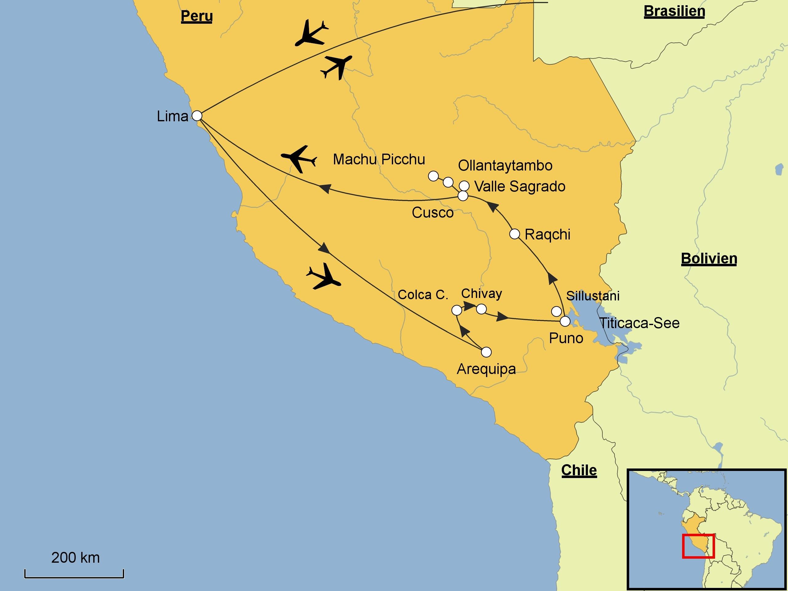 Peru Karte.Peru Srd Reisen