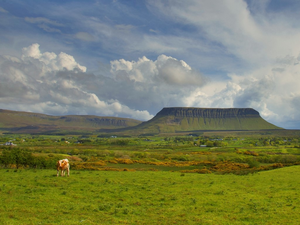 Irlands Norden Ben Bulben
