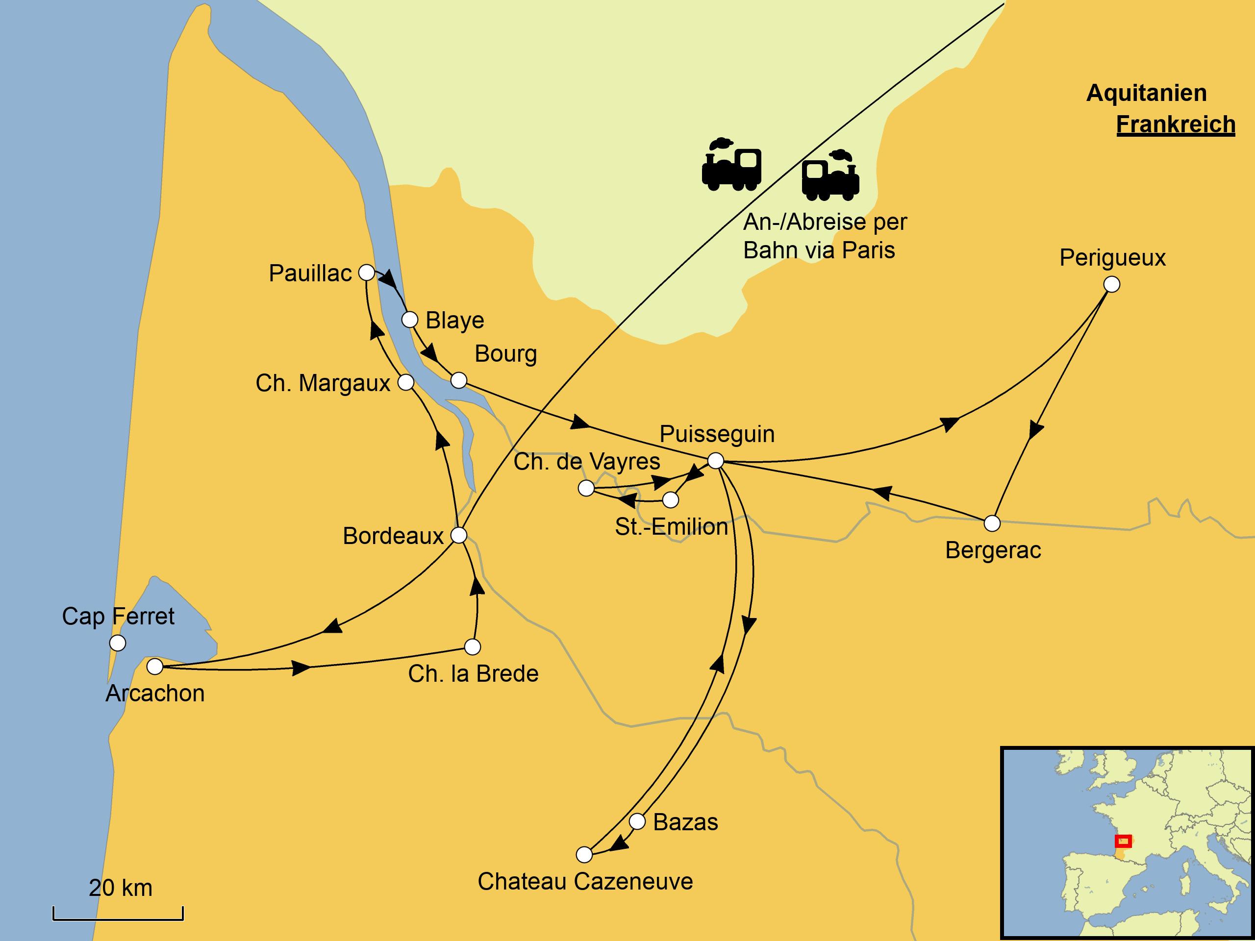 Bordeaux Mehr Srd Reisen