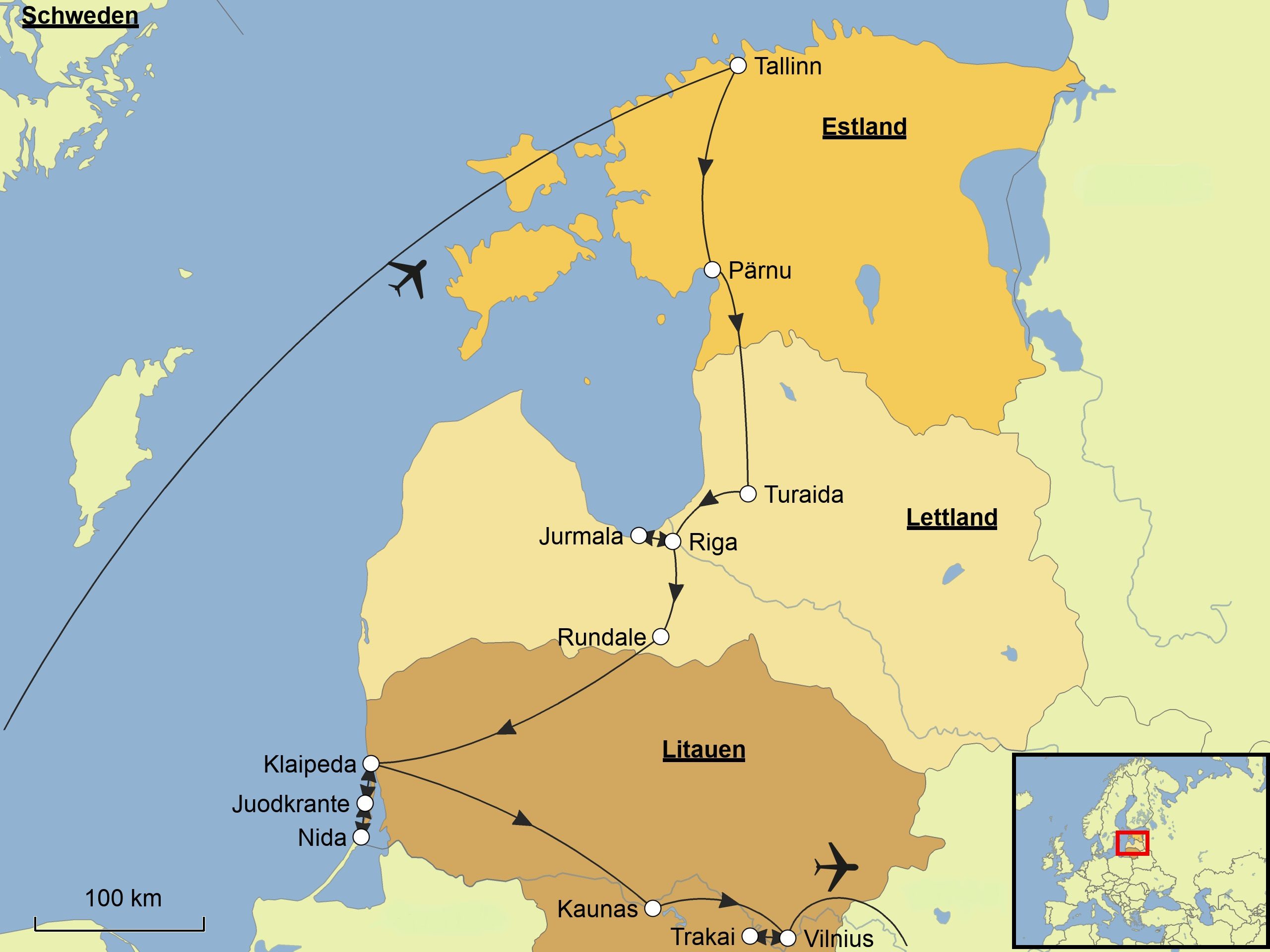 K303274ste Algarve Karte.Karte Estland Lettland